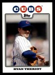 2008 Topps #584  Ryan Theriot  Front Thumbnail