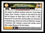 2008 Topps #558  John Russell  Back Thumbnail