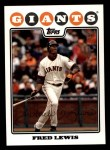 2008 Topps #547  Fred Lewis  Front Thumbnail