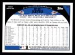 2009 Topps #57  Jo-Jo Reyes  Back Thumbnail