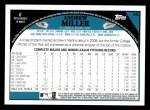 2009 Topps #95  Andrew Miller  Back Thumbnail