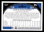 2009 Topps #55  J.J. Hardy  Back Thumbnail