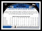2009 Topps #52  Marco Scutaro  Back Thumbnail