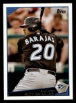 2009 Topps #84  Rod Barajas  Front Thumbnail