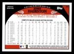 2009 Topps #29  Jerry Hairston  Back Thumbnail