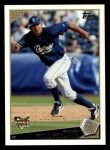 2009 Topps #51  Will Venable  Front Thumbnail