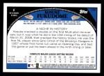 2009 Topps #150  Kosuke Fukudome  Back Thumbnail