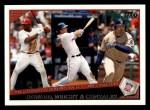2009 Topps #147   -  Ryan Howard / David Wright / Adrian Gonzalez NL RBI Leaders Front Thumbnail