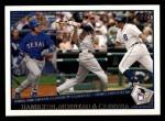 2009 Topps #176   -  Josh Hamilton / Justin Morneau / Miguel Cabrera AL RBI Leaders Front Thumbnail