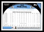 2009 Topps #111  Troy Percival  Back Thumbnail