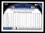 2009 Topps #178  Frank Catalanotto  Back Thumbnail