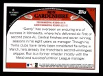 2009 Topps #117  Ron Gardenhire  Back Thumbnail