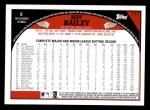2009 Topps #171  Jeff Bailey  Back Thumbnail