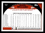2009 Topps #197  Ronnie Belliard  Back Thumbnail