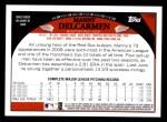 2009 Topps #173  Manny Delcarmen  Back Thumbnail