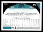 2009 Topps #238  Jorge Cantu  Back Thumbnail