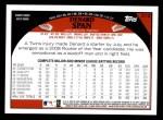 2009 Topps #212  Denard Span  Back Thumbnail