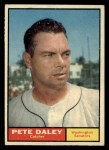 1961 Topps #158  Pete Daley  Front Thumbnail