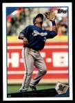 2009 Topps #372  Rickie Weeks  Front Thumbnail