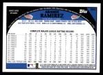 2009 Topps #380  Aramis Ramirez  Back Thumbnail