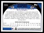 2009 Topps #309  Humberto Sanchez  Back Thumbnail