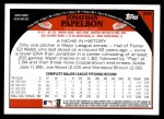 2009 Topps #386  Jonathan Papelbon  Back Thumbnail