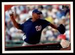 2009 Topps #338  Daniel Cabrera  Front Thumbnail