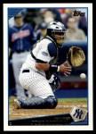 2009 Topps #478  Jose Molina  Front Thumbnail