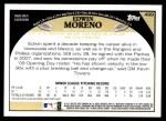 2009 Topps #499  Edwin Moreno  Back Thumbnail