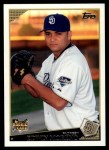 2009 Topps #499  Edwin Moreno  Front Thumbnail