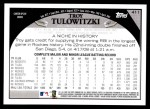 2009 Topps #411  Troy Tulowitzki  Back Thumbnail