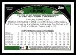 2009 Topps #464  Bobby Crosby  Back Thumbnail