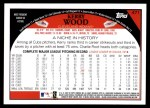 2009 Topps #471  Kerry Wood  Back Thumbnail