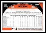 2009 Topps #463  Brian Wilson  Back Thumbnail