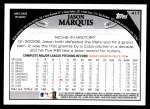 2009 Topps #417  Jason Marquis  Back Thumbnail