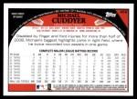 2009 Topps #469  Michael Cuddyer  Back Thumbnail