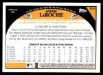 2009 Topps #554  Adam LaRoche  Back Thumbnail
