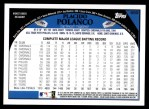 2009 Topps #599  Placido Polanco  Back Thumbnail