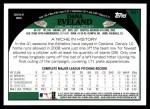 2009 Topps #521  Dana Eveland  Back Thumbnail