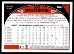 2009 Topps #651  Jake Westbrook  Back Thumbnail