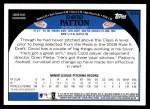 2009 Topps #633  David Patton  Back Thumbnail