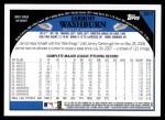 2009 Topps #607  Jarrod Washburn  Back Thumbnail