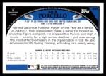 2009 Topps #658  Rick Porcello  Back Thumbnail