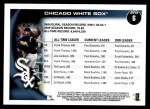 2010 Topps #6   White Sox History Back Thumbnail