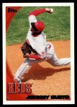 2010 Topps #16  Johnny Cueto  Front Thumbnail