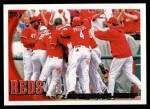 2010 Topps #32   Reds Team Front Thumbnail