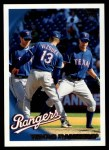 2010 Topps #5   Rangers Team Front Thumbnail