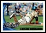 2010 Topps #75  Adrian Gonzalez  Front Thumbnail