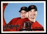 2010 Topps #27   -  Lance Berkman / Mike Hampton Photo Day Fun Checklist Front Thumbnail