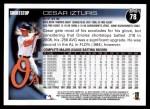 2010 Topps #78  Cesar Izturis  Back Thumbnail